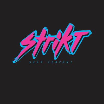 Strikt Logo – Retro